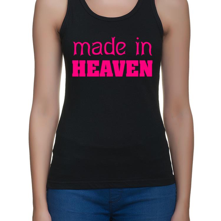 made in Heaven - koszulka charytatywna - bokserka damska