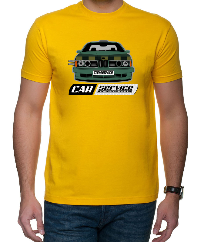 CarService projekt reklamowy koszulki