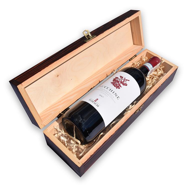 Lakierowana skrzynka na wino - ze znakowaniem lub bez!
