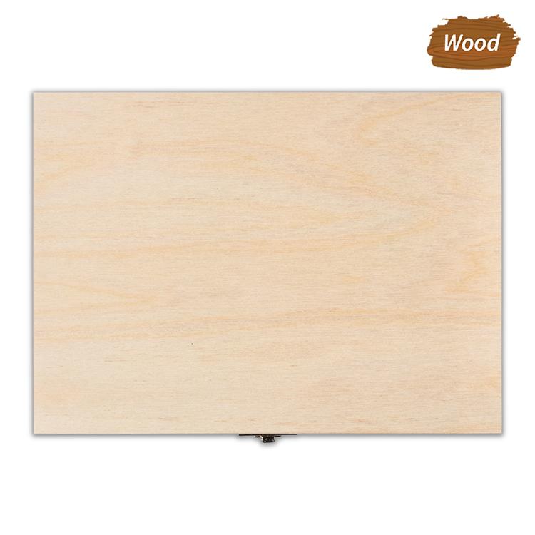 Szkatułka drewniana średnia - naturalne drewno - ze znakowaniem lub bez!
