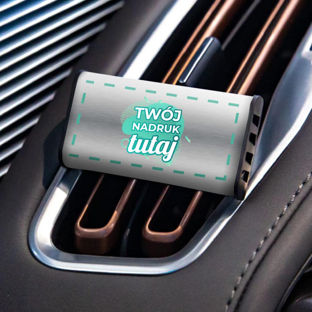 Perfumy samochodowe z własnym znakowaniem