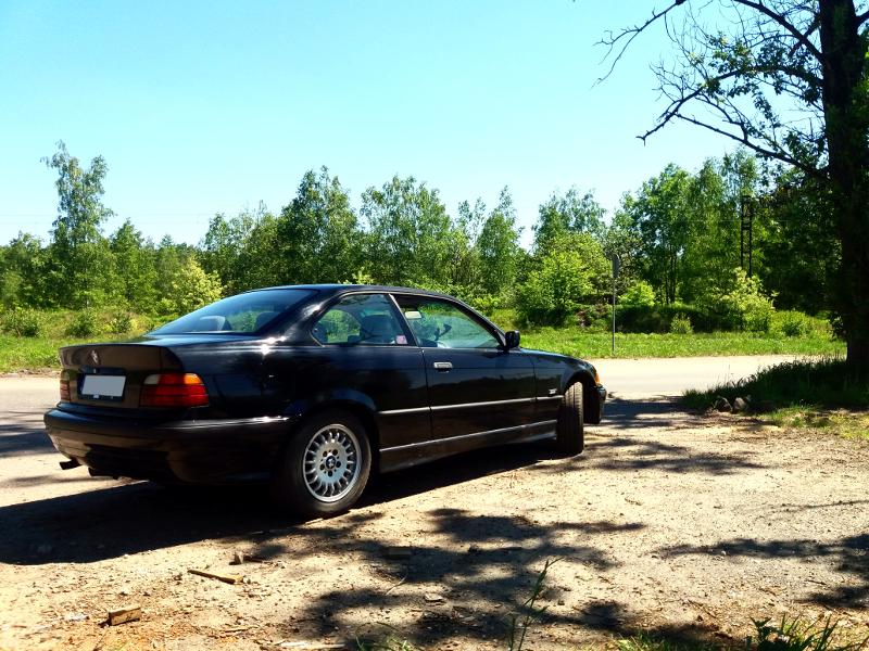 Projekt BMW E36 Coupe - Sponsor poszukiwany
