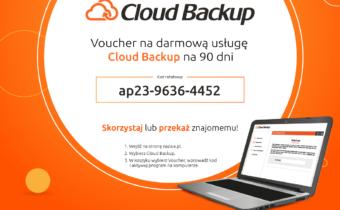 Darmowa usługa CLOUD BACKUP w nazwa.pl