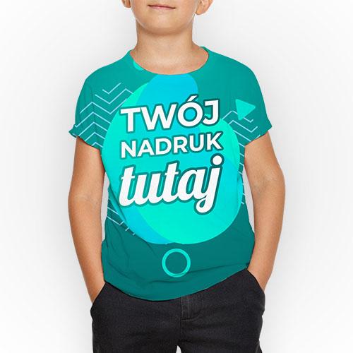 Koszulka dziecięca z nadrukiem Fullprint