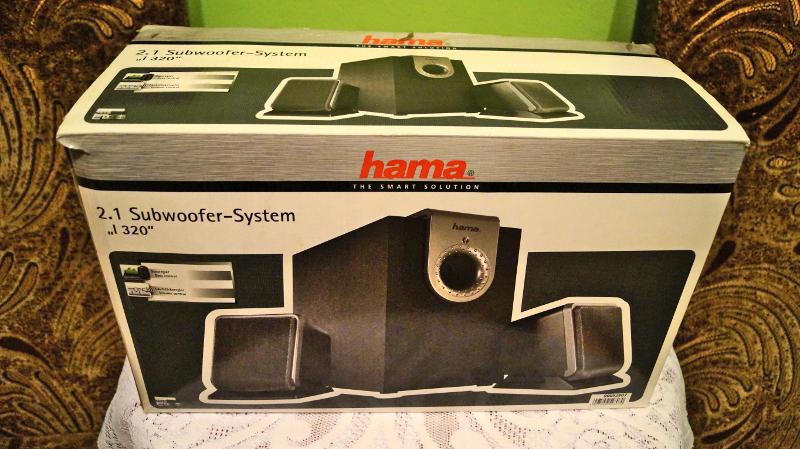 Głośniki komputerowe HAMA - Gliwice