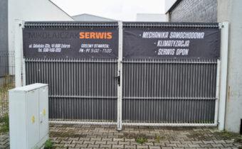 Projekt graficzny bannerów Mikołajczak Serwis Zabrze